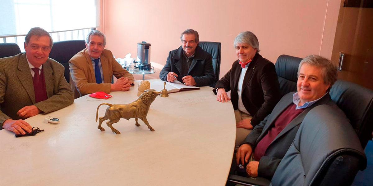 Visita del Ministro de Ganadería, Agricultura y Pesca